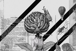 Artichoke's printable collage