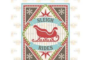 Sleigh Rides SVG EPS DXF JPG