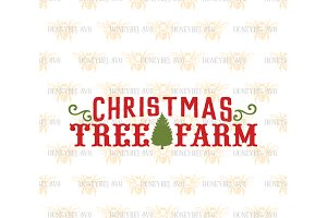 Christmas Tree Farm SVG EPS DXF JPG