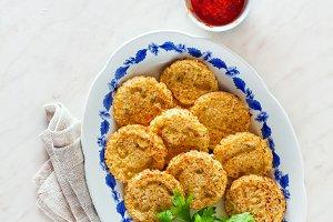 pancakes with cauliflower
