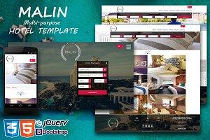 Malin - Multipurpose Hotel Template