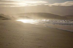 Back-lit Sea Spray