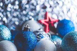 Background of Christmas decoration