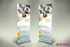 Business Roll Up Banner - v025