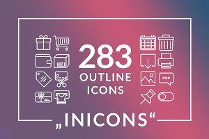 Inicons icon set