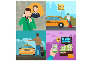 Taxi service concepts