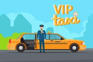 Vip taxi service