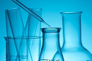 science laboratory test tubes