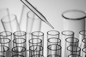 science laboratory test tube