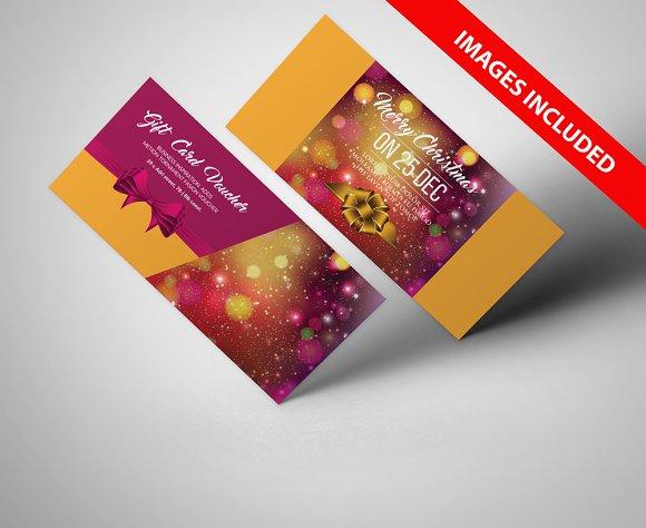 Christmas Gift Voucher Templates Flyer Templates on Creative Market – Christmas Gift Vouchers Templates