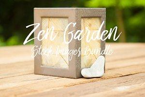 Zen Garden Stock Image Bundle