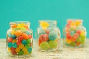 Colour candies