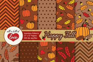 Brown Fall Foliage Backgrounds