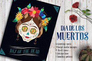 Day of the Dead - Skull Collection
