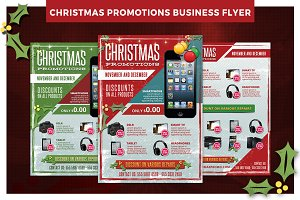 Christmas Business Promotions Flyer
