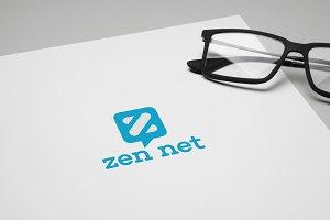 Zen Net Logo Template