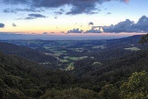 Australian Valley Landscape