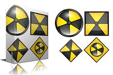 Radiation Signs & Icons