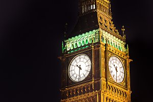 Big Ben London UK Houses Parlament
