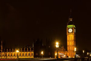 Big Ben Houses Parliament London UK