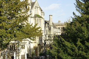 Magdalen Bridge and College, Oxford