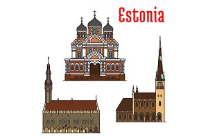 Estonia famous historic landmarks