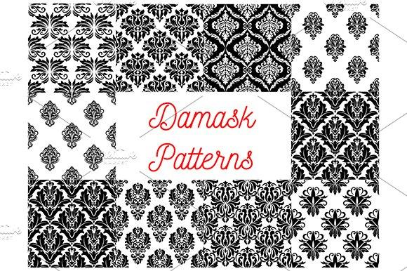 Damask Vector Patterns
