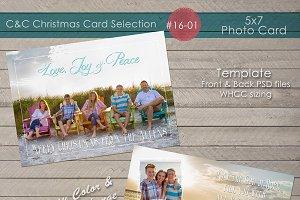 Christmas Photo Card Selection#16-01