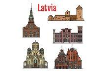 Latvia famous historic landmarks