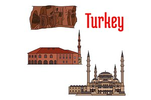 Turkey historic architecture