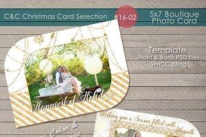 Christmas Photo Card Selection#16-02