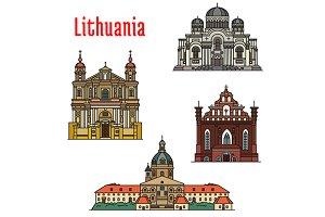 Lithuania famous landmarks