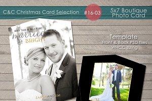 Christmas Photo Card Selection#16-03