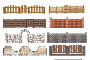 Vector fences and gates