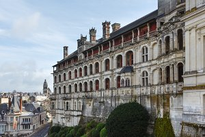Royal Castle Blois, France.