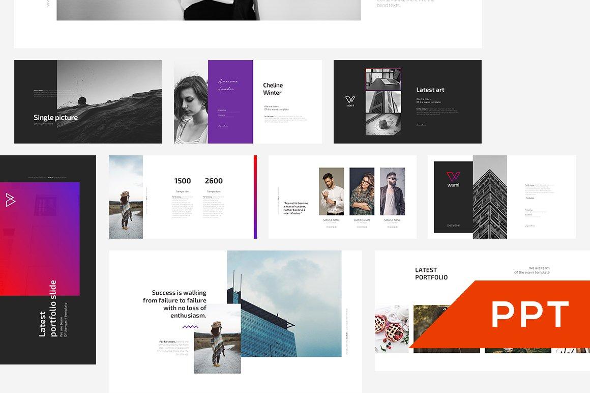 Warni powerpoint template presentation templates creative market toneelgroepblik Image collections