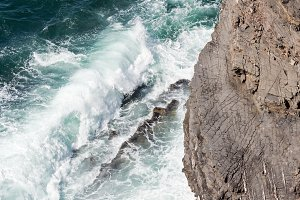 Atlantic ocean coast, Portugal.