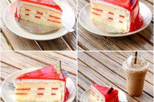 set of cake
