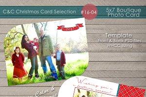 Christmas Photo Card Selection#16-04