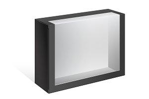 Black Package Cardboard Box