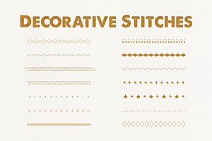 Decorative Stitch Brushes