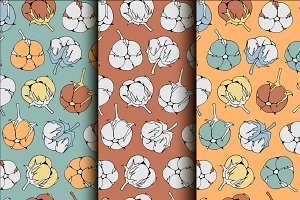 Collection cotton patterns