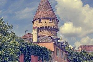 Cluny, medieval village