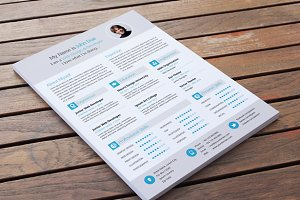 Modern Resume Vector Template