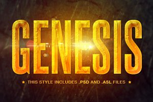 Cinematic Gems Photoshop Styles