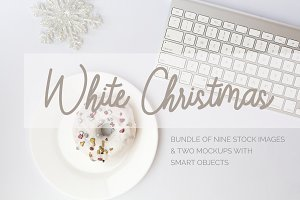 White Christmas Stock Photos