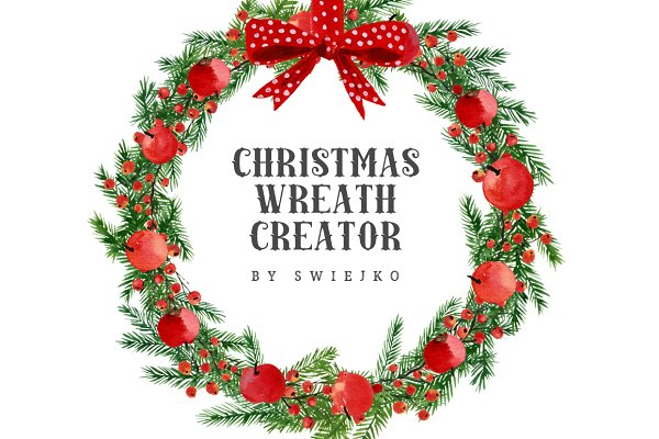 Christmas Wreath Creator