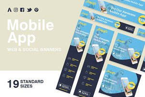 Mobile App Web Banners