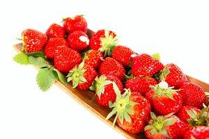 Fresh aroma strawberry fruit