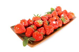 Fresh aroma strawberry fruit